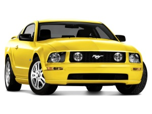 2005 Ford Mustang.
