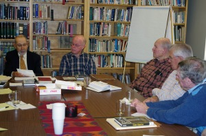 Book Group Meeting. Photo Credit: Warren Marcus.