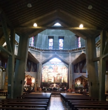 Church of the Annunciation, inside