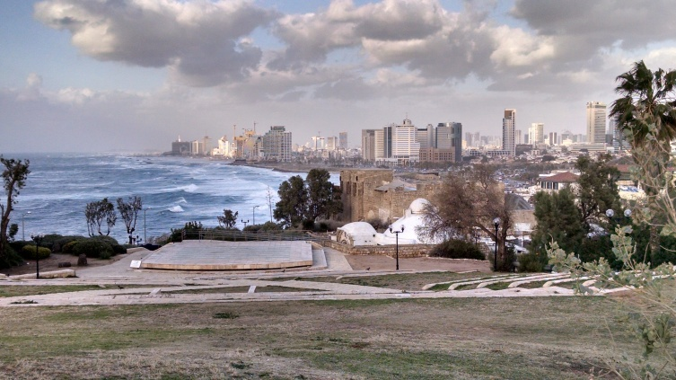 view of Tel Aviv from Joppa